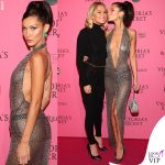 Victoria's Secret Fashion Show after party Bella Hadid abito Julien Macdonald