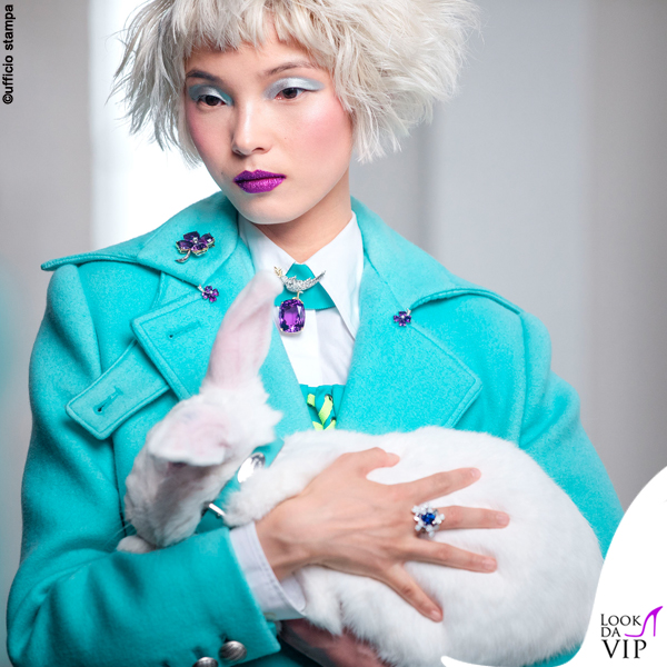 Xiao Wen Ju pubblicità Tiffany and Co