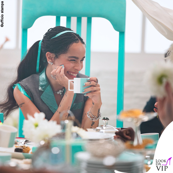 Zoe Kravitz pubblicità Tiffany and Co 2