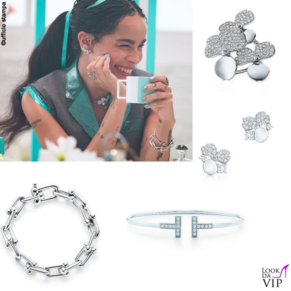 Zoe Kravitz pubblicità Tiffany and Co 3