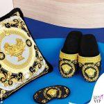 cuscino ciabatte Versace