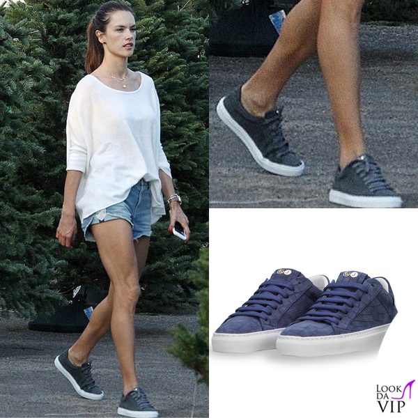 Alessandra Ambrosio scarpe Hide & Jack 1
