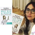 Ambra Angiolini libro Mai più a dieta di Sara Farnetti