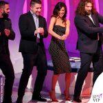 Belen Rodriguez C'è posta per te abito Misha scarpe Roberto Festa 3