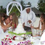Benedetta Parodi abito da sposa Atelier Emé gioielli Rue des Mille Fabio Caressa 3
