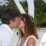 Benedetta Parodi abito da sposa Atelier Emé gioielli Rue des Mille Fabio Caressa