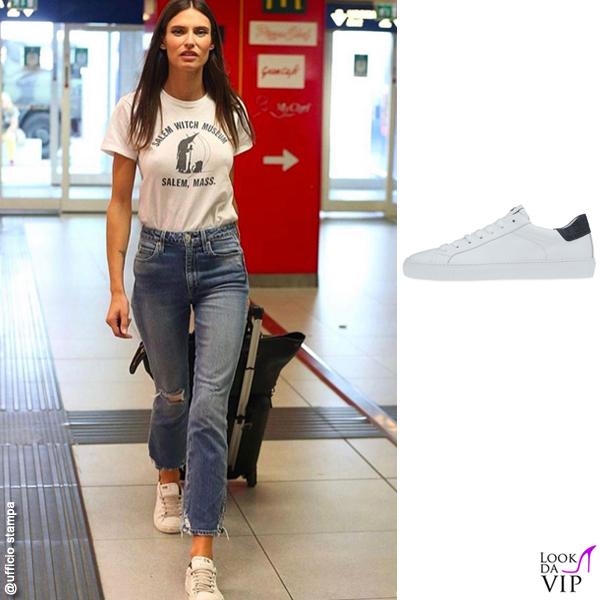 Bianca Balti sneakers Hide&Jack