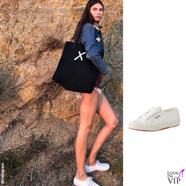 Bianca Balti sneakers Superga