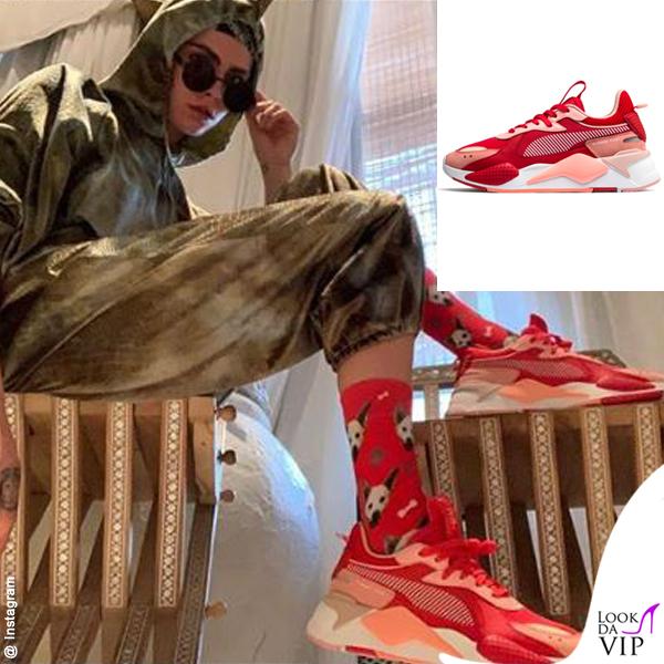 Cara Delevingne sneakers Puma RS-X