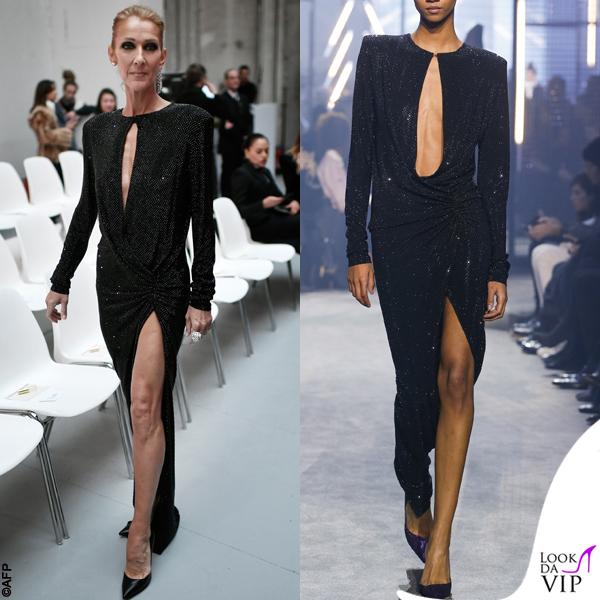 the best attitude 0812e 0994d Celine Dion abito Alexandre Vauthier 2 - Look da Vip