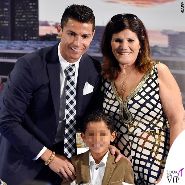 Cristiano Ronaldo e Maria Dolores dos Santos Aveiro