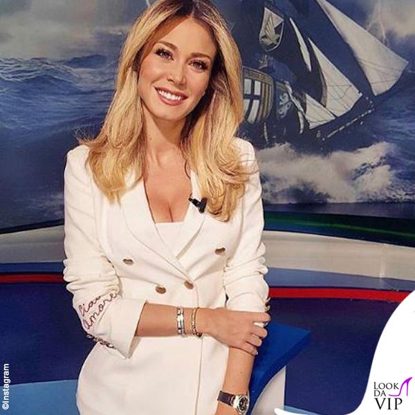 Diletta Leotta blazer Giada Benincasa