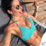 Elisabetta Gregoraci bikini Beach Bunny