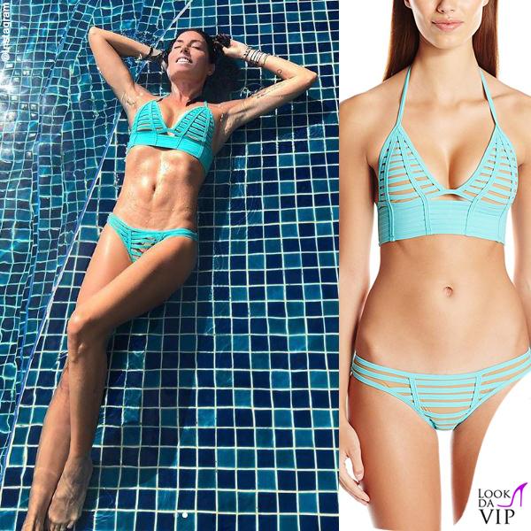 Elisabetta Gregoraci bikini Beach Bunny 2