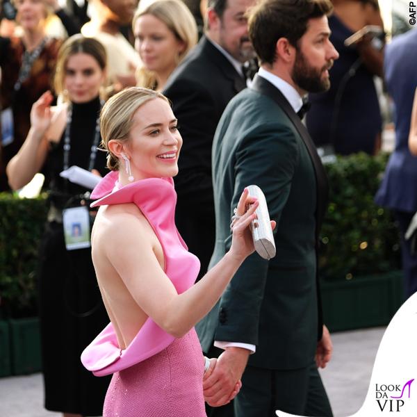 Emily Blunt abito Michael Kors Sag Awards 5