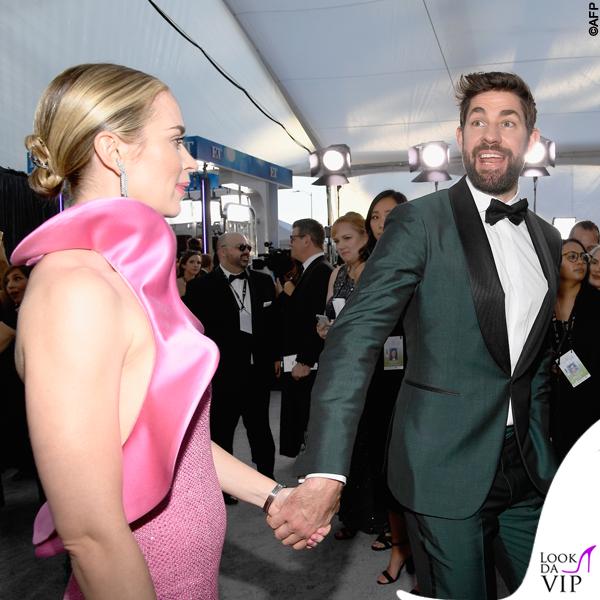 Emily Blunt abito Michael Kors Sag Awards 6