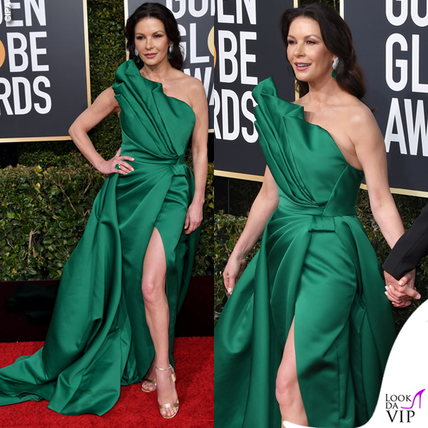 GG19 Catherine Zeta Jones abito Elie Saab Couture