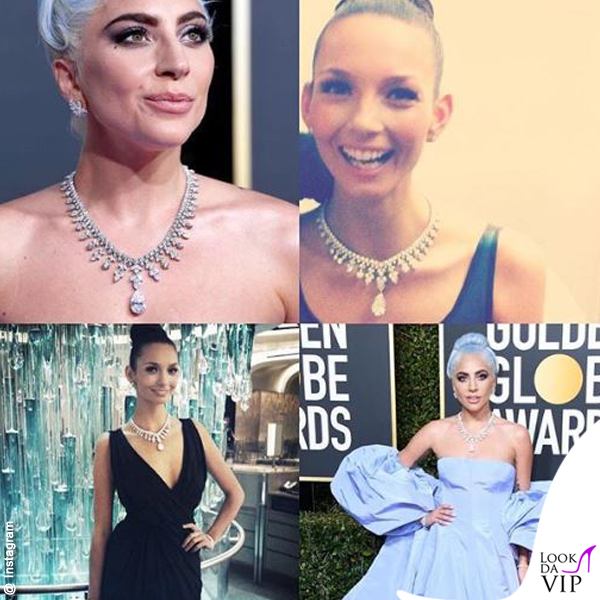 GG19 Lady Gaga Ricki Lee collana Tiffany Aurora