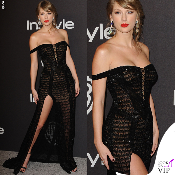 GG19 Taylor Swift abito Atelier Versace