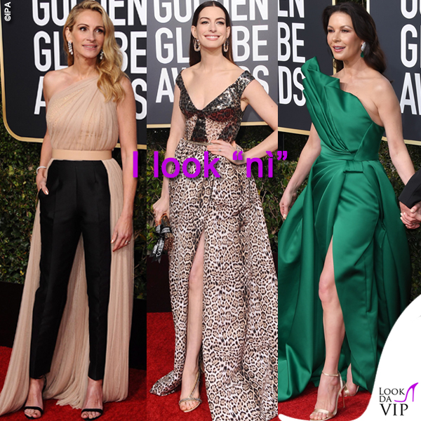 GG19 look Ni Julia Roberts Anne Hathaway Catherine Zeta Jones