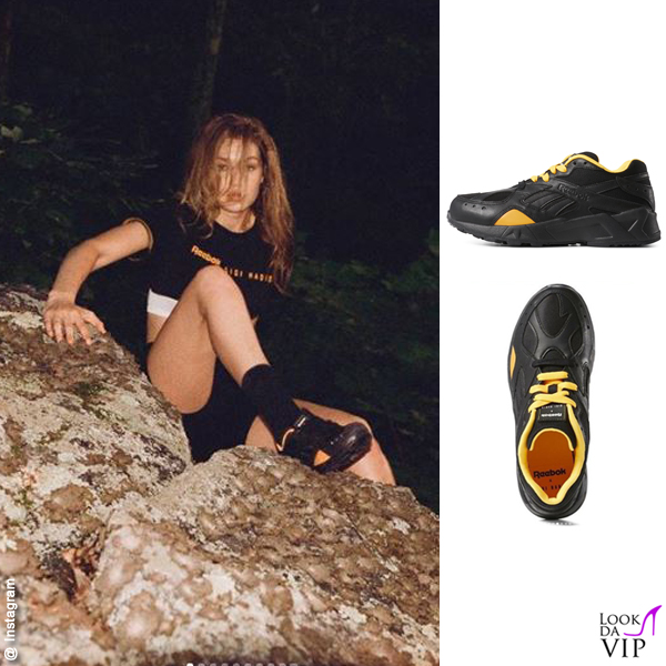 Gigi Hadid sneakers Reebok x Gigi Hadid Aztrec