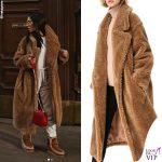 Giulia De Lellis cappotto Wanan Touch 2