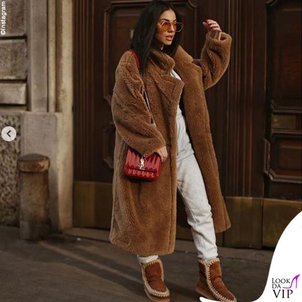 Giulia De Lellis cappotto Wanan Touch