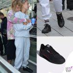 Hailey Baldwin sneakers Adidas Continental 80