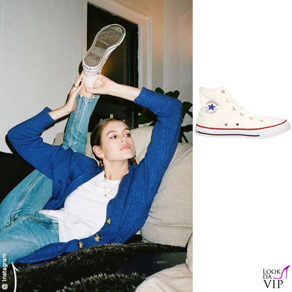 Kaia Gerber sneakers Converse All Star