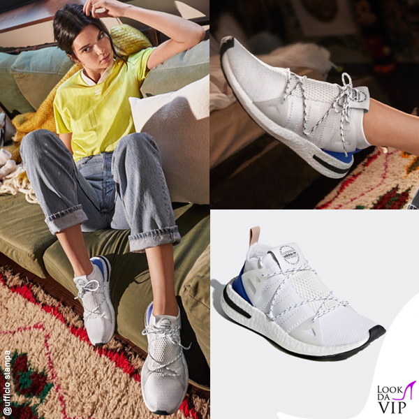 Kendall Jenner sneakers Adidas Arkyn