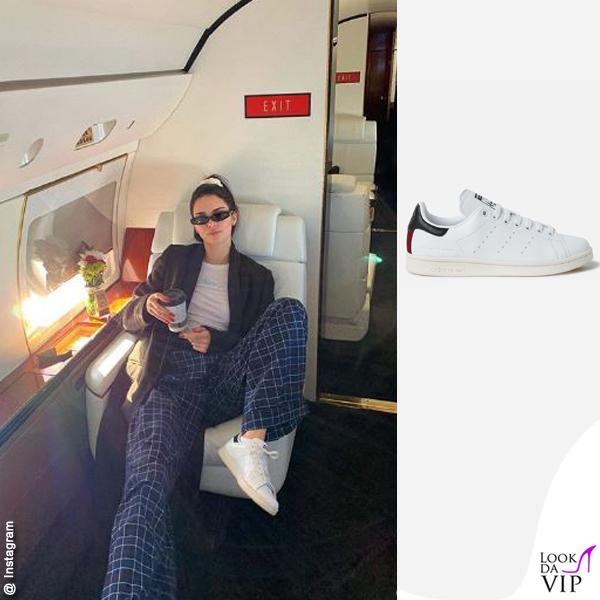 Kendall Jenner sneakers Stan Smith Stella McCartney