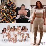 Kim Kardashian dona Vuitton a figlie e nipoti