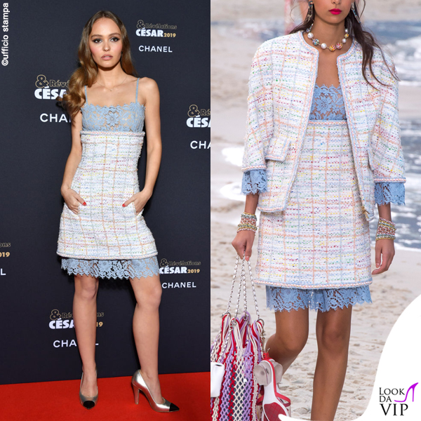 Lily Rose Depp outfit Chanel 2