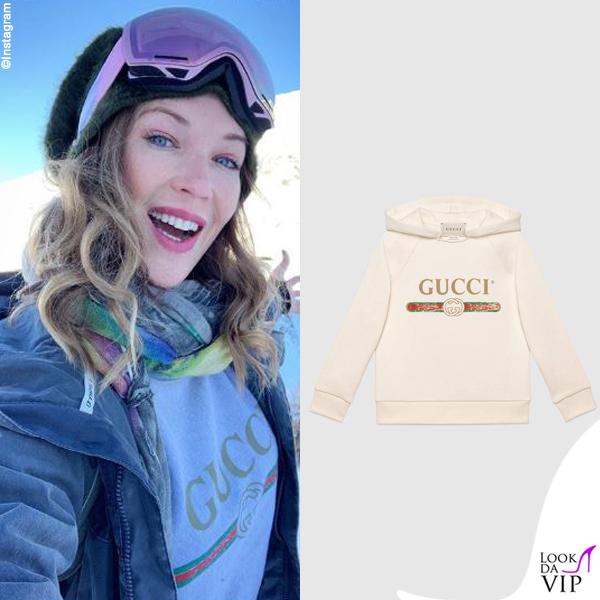 Ludmilla Radchenko felpa Gucci