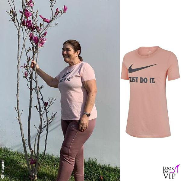Maria Dolores dos Santos Aveiro outfit Nike 12