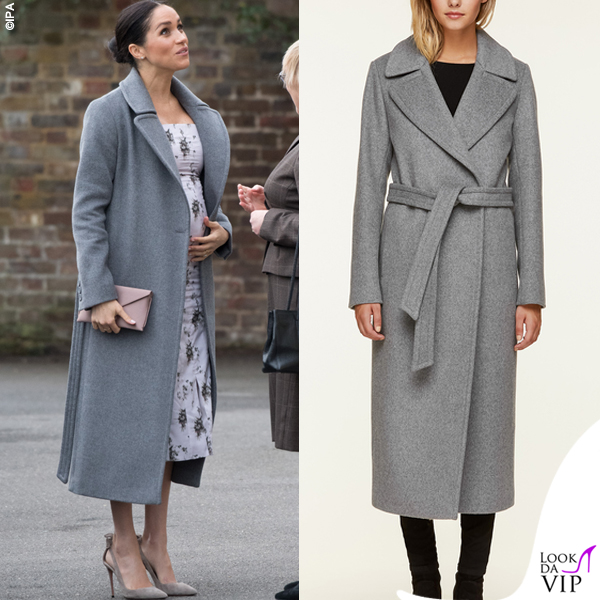 Meghan Markle cappotto Soia and Kyo Adelaida