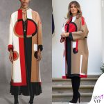 Melania Trump cappotto Dior 4