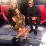 Melissa Satta abito Pinko stivali Le Silla 2