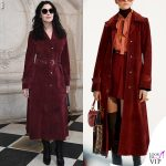Monica Bellucci cappotto Dior