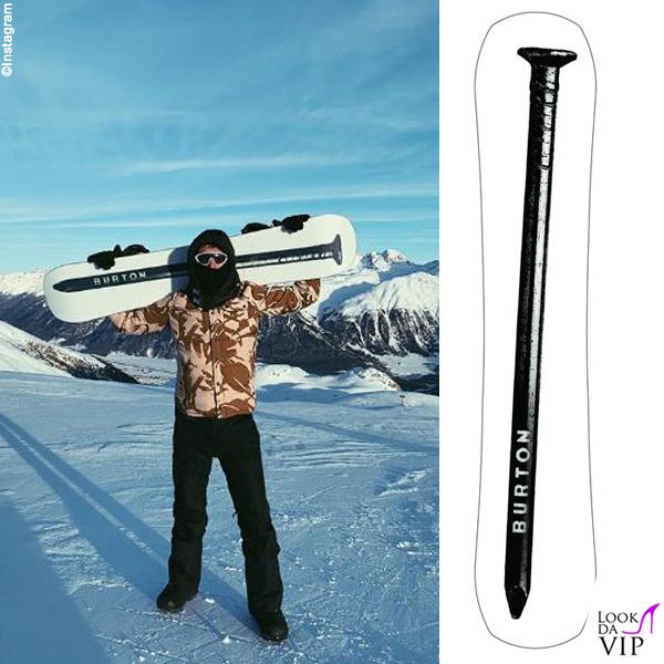 Stefano De Martino snowboard Burton