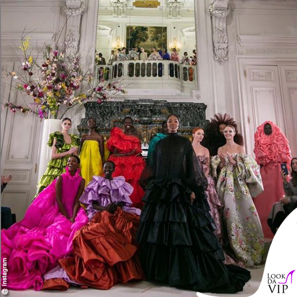 Valentino HC Naomi Campbell modelle