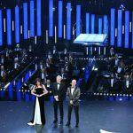 Sanremo 2019 Virginia Raffaele primo abito Armani
