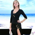 Alessia Marcuzzi Isola dei Famosi sesta puntata outfit Versace