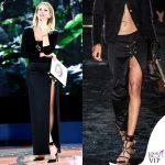 Alessia Marcuzzi Isola dei Famosi sesta puntata outfit Versace 2