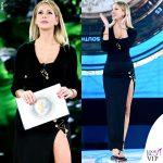 Alessia Marcuzzi Isola dei Famosi sesta puntata outfit Versace 4