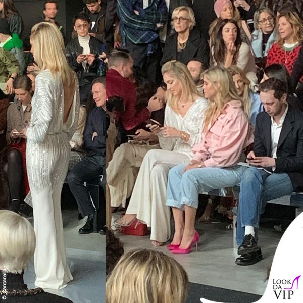 Chiara Ferragni MFW tuta Alberta Ferretti Limited Edition