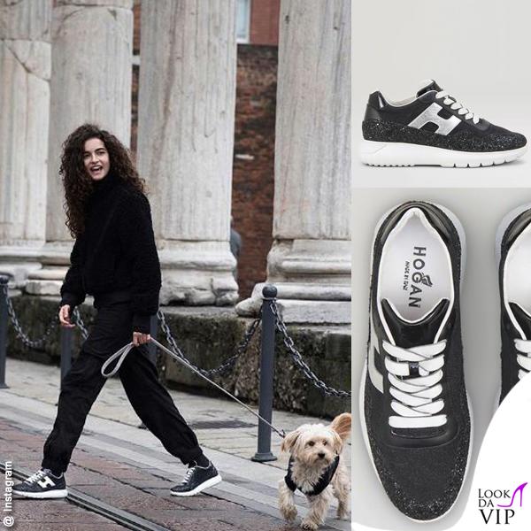 Chiara Scelsi sneakers Hogan
