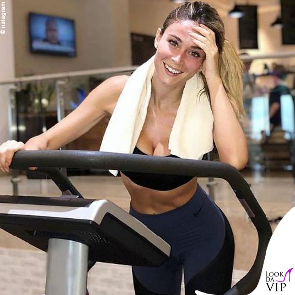 Diletta Leotta leggings Nike