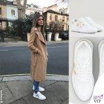Elisa Sednaoui sneakers Hogan