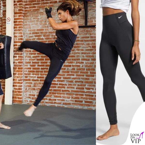 Elisabetta Canalis leggings Nike